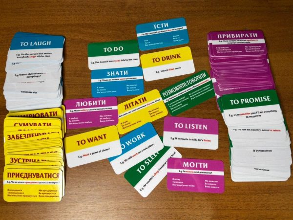 ukrainian vocabulary flashcards
