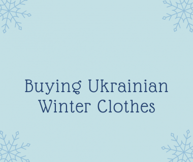 Ukrainian Winter Clothes –  How to Buy Them at the Shop