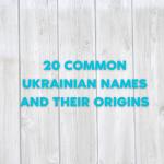 Ukrainian names