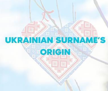 Ukrainian Surname's Origin