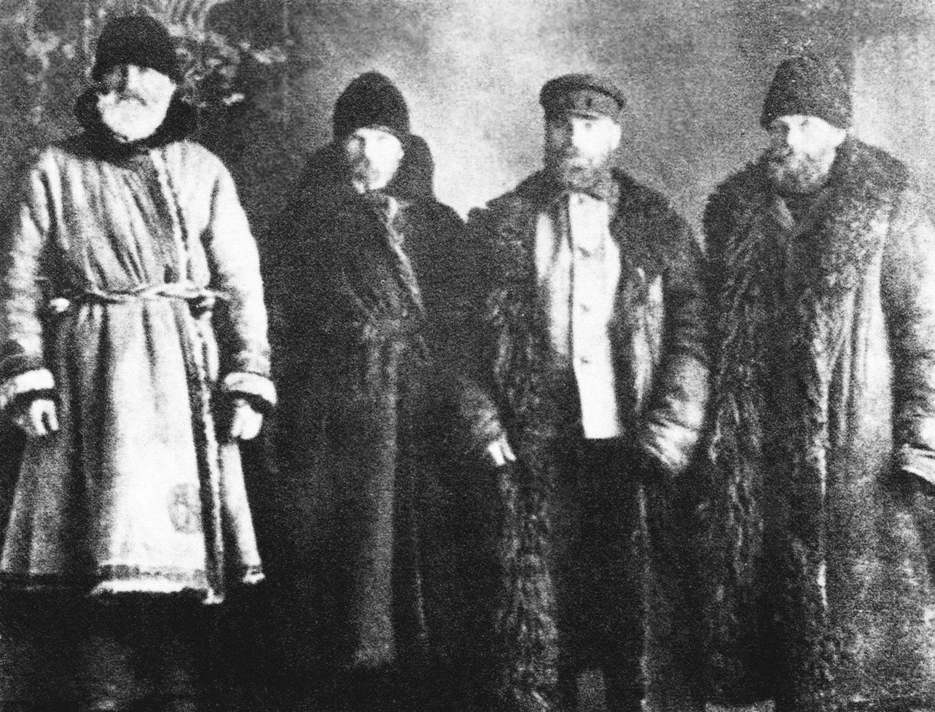 Одні з перших українських емігрантів до Америки – баптисти І.Сипченко, Г.Кузений, І.Юхимів та Ю.Сич.
